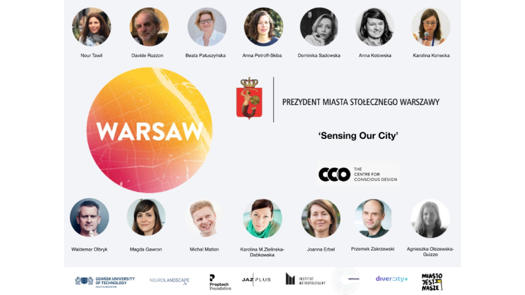 Sensing our City | Conscious Warsaw Webinar