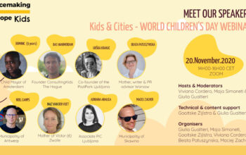 Child&City webinar speakers, Placemaking Europe Kids